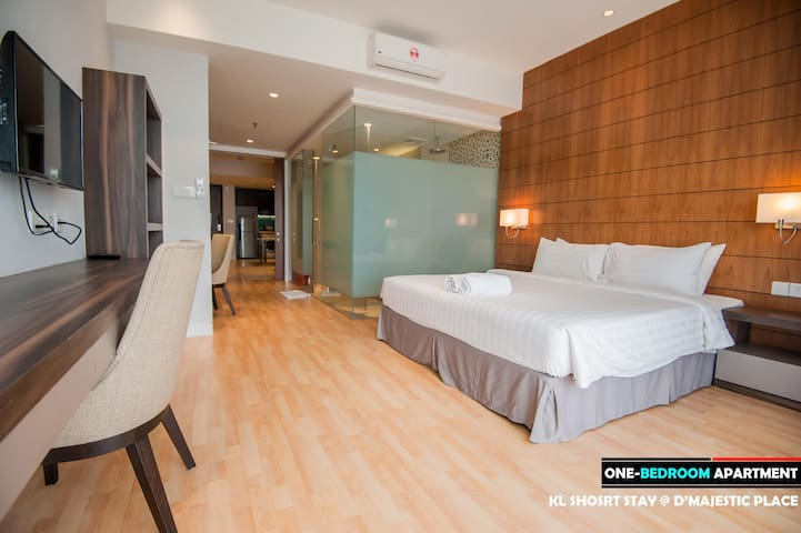 D'Majestic| 1BR Couple| High Floor| Pool KLCC View