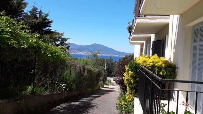 Appartement Porticcio Vue sur Mer Baie d'Ajaccio