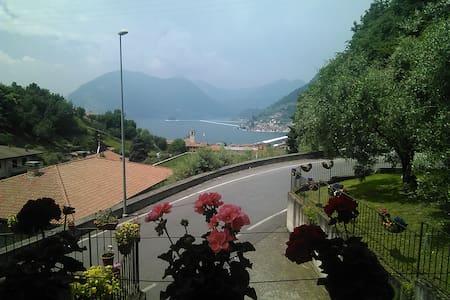 Bellissima vista sul lago e bella vista al ponte - Tassano - Apartament