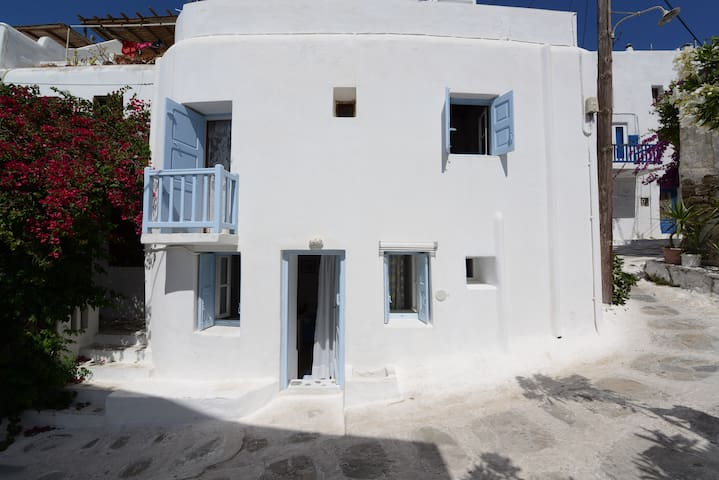 Traditional Studio In The Heart Of Mykonos Town