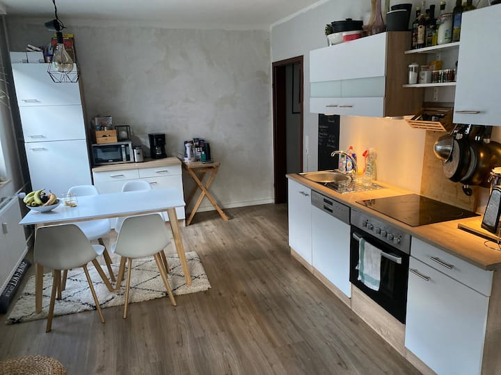 Central cozy apartment at the habor of Hamburg