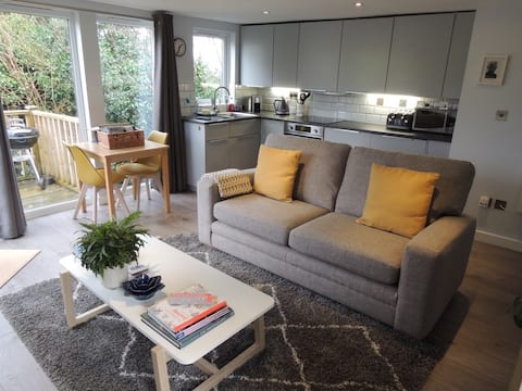 Contemporary cottage with a view - The Hutch Devon