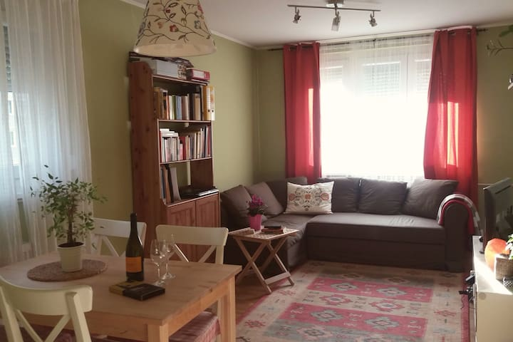 Super-happy apartment close to River Danube - Budapest - Apartment