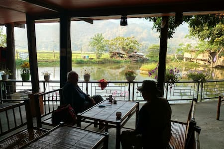 Mai Chau - Private Rooms by the fish-pond
