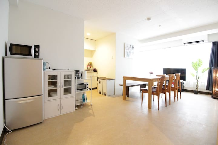 Shinjuku★8PPL/4BEDS★Heart of City - Shinjuku-ku - Apartmen