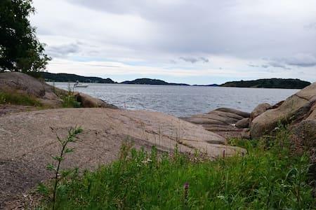 Skjærgård i Melsomvik, archipelago Brunstad - House