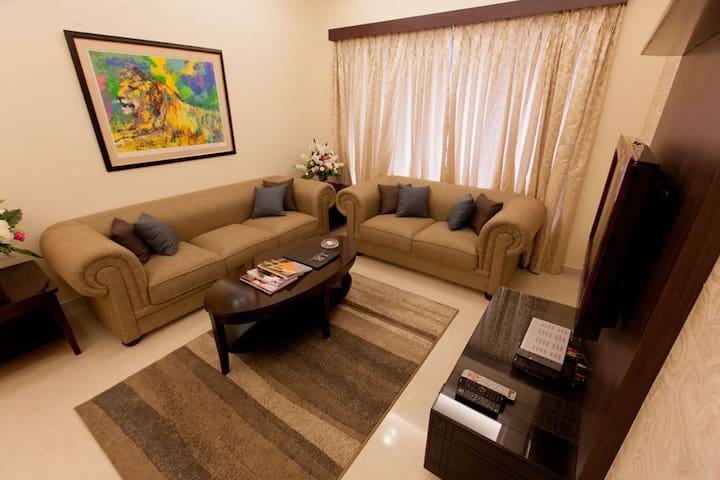 Classy One Bedroom Apartment at Andheri EastMumbai - Bombay - Mobilyalı daire