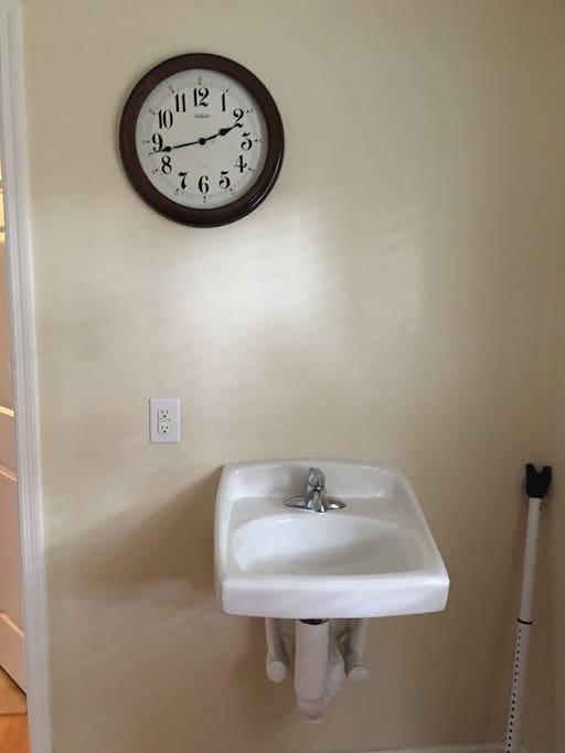 Separate sink in mud room