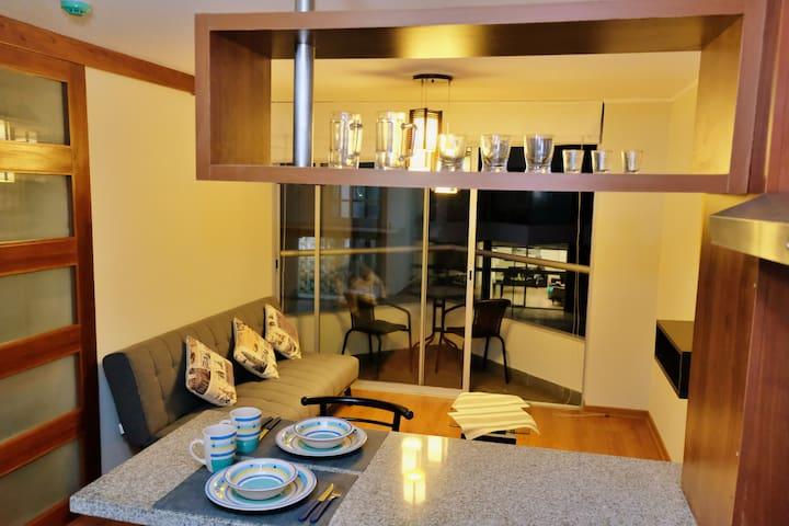 Modern Apartment + Panoramic Swimming Pool+Netflix