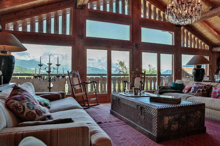 Exceptional chalet Intages Megeve