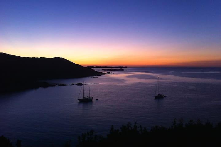 Is Traias - Villa con vista su Punta Molentis