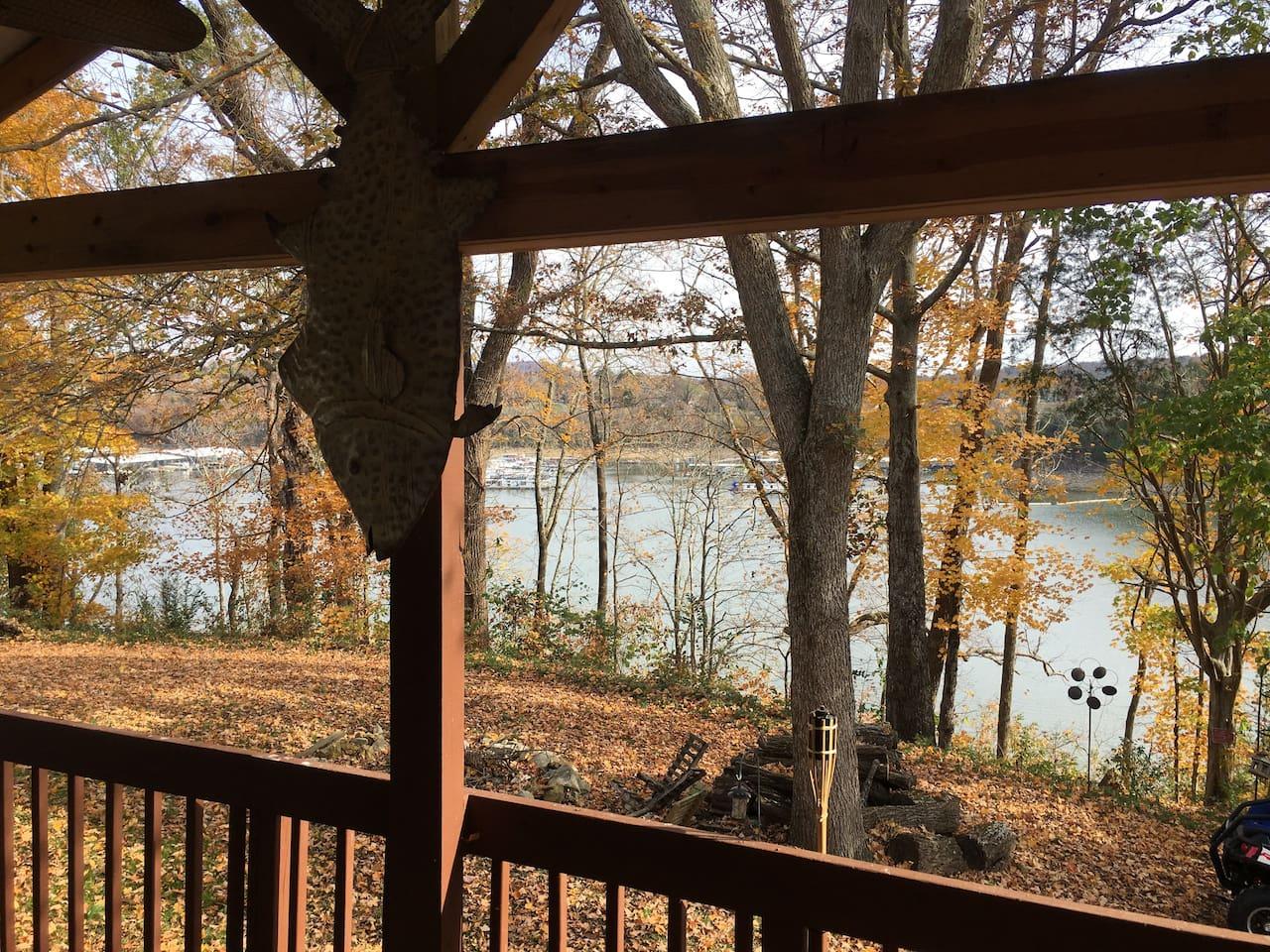 Enjoy view of Cumberland Lake  and Burnside Marina