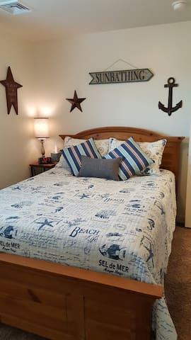 Beckys beach room!