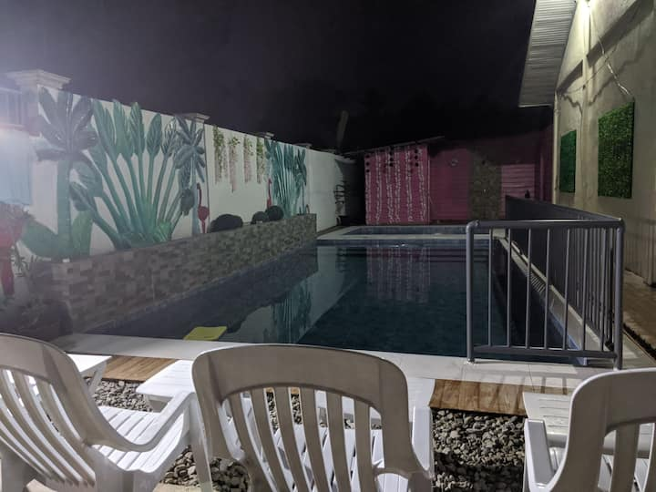 Private pool and a Room, Friends Family Gathering