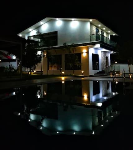 Riverside Twin Villas near Amgaon