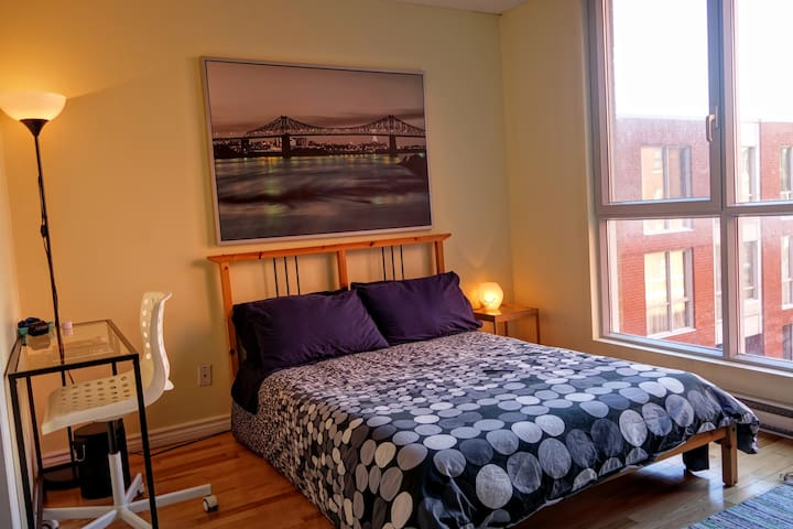 Quiet suite in heart of downtown - Montreal - Apartemen