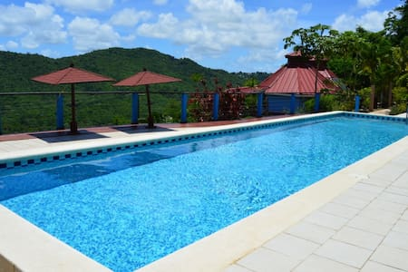 Panoramic 2 bedroom apartment with ideal location - Marigot Bay