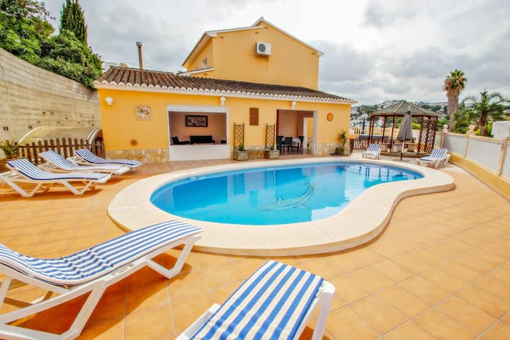 Angevic - a delightful villa located in the town of Moraira