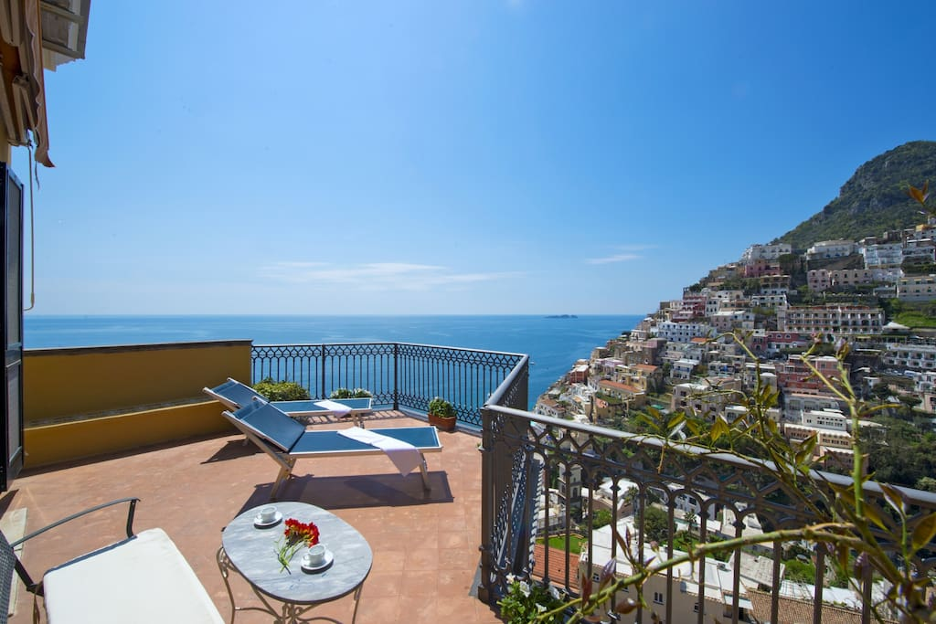 Your private stunning Sea View Terrace