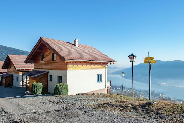 Luxury in the square, 5-star house with magnificent view over Lake Ossiach