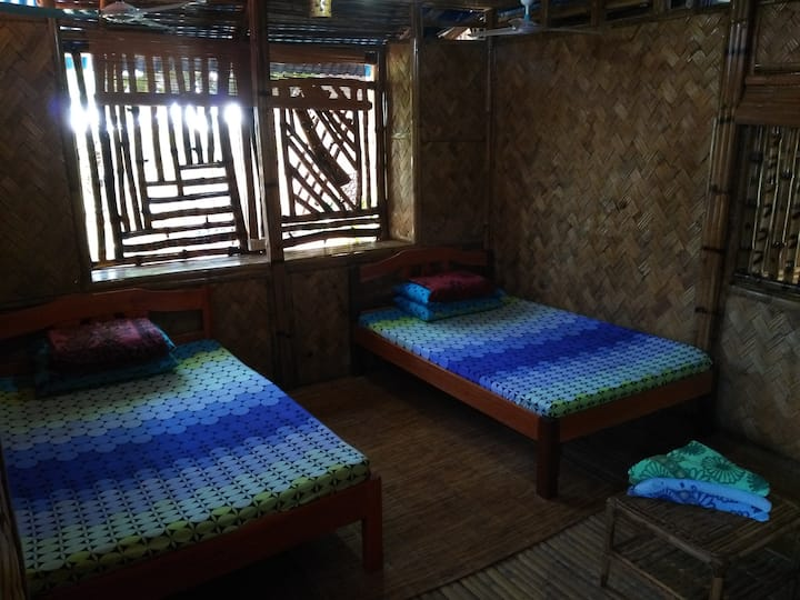 Awesome Bamboo Room