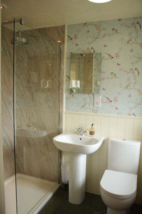 Ensuite - Ingleborough room