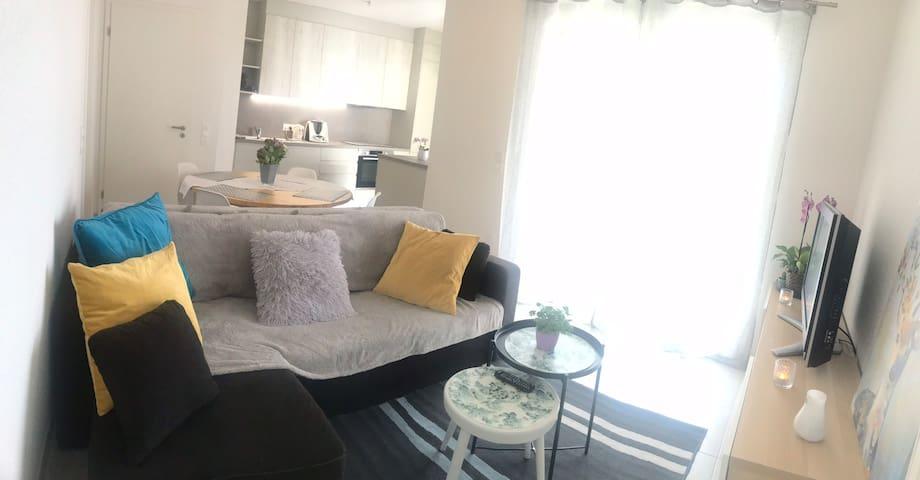 Chambre double dans appartement occupé à Haguenau