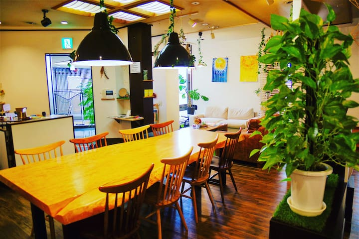 Female Dormitory -1 minutes walk to NARA station-