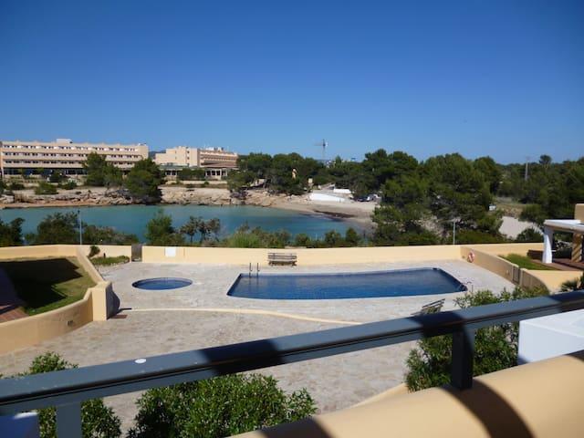 Apartamento Sol y Playa. Acceso a la playa - Sant Antoni de Portmany - Departamento