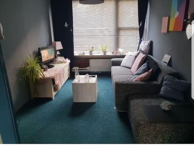 Privékamer te huur met een tuintje!