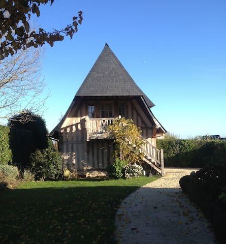 Romantisme au Manoir-Deauville-2 km - Tourgéville - Bed & Breakfast