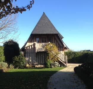 Romantisme au Manoir-Deauville-2 km - Tourgéville