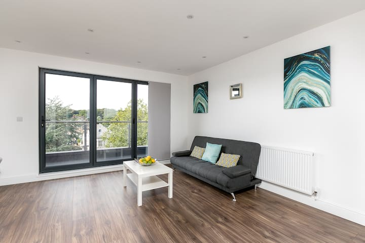 Luxury London Apartment 1min from to train station