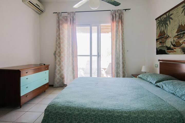 """Sand"" One bedroom house sea view Praia Chaves - Rabil - Villa"