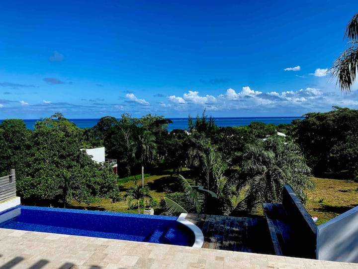 Relax with a dream view and Private Infinity Pool!