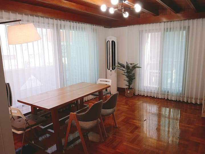 [NEW] 신규오픈!! 헤이 송정하우스(F2# 2층)  송정해수욕장 도보 2분거리 단독주택