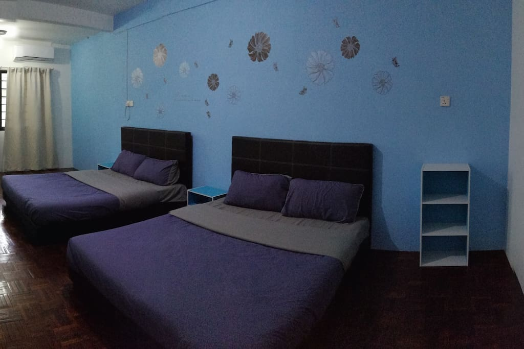 2nd Room -  2 Double Bed