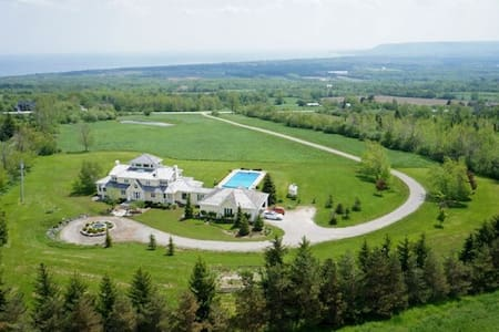 Stunning Estate With Views Of Georgian Bay - Grey County - Hus