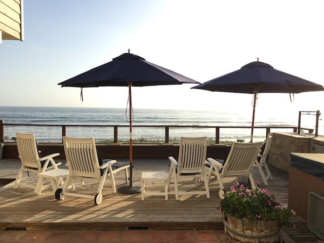 Point Break - Beachfront Home at Rincon - Carpinteria - House