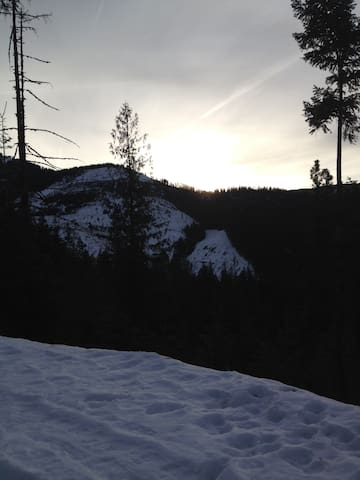 North Idaho Dream Location Ski, Hunt, Hike, Relax - Wallace - Hus