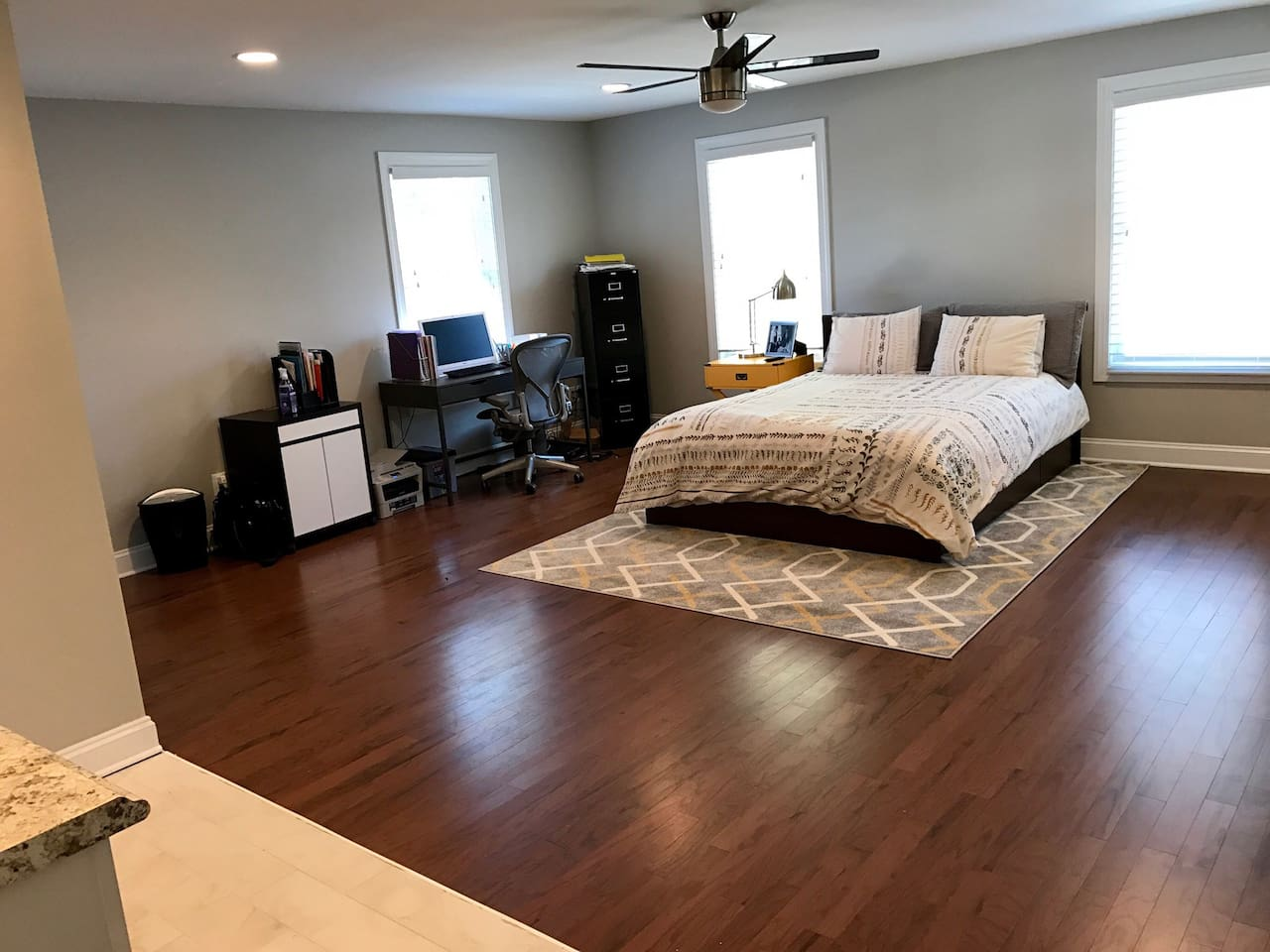 Large loft with full privacy