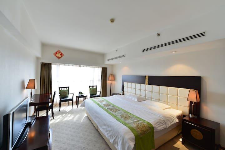 北京中关村海淀黄庄地铁4号10号线A2口出温馨的萨尔酒店公寓
