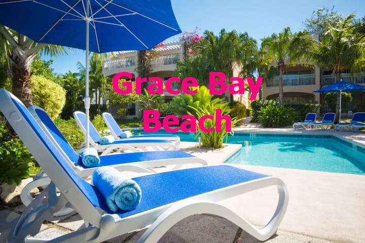 **Premium Grace Bay Beach condo**