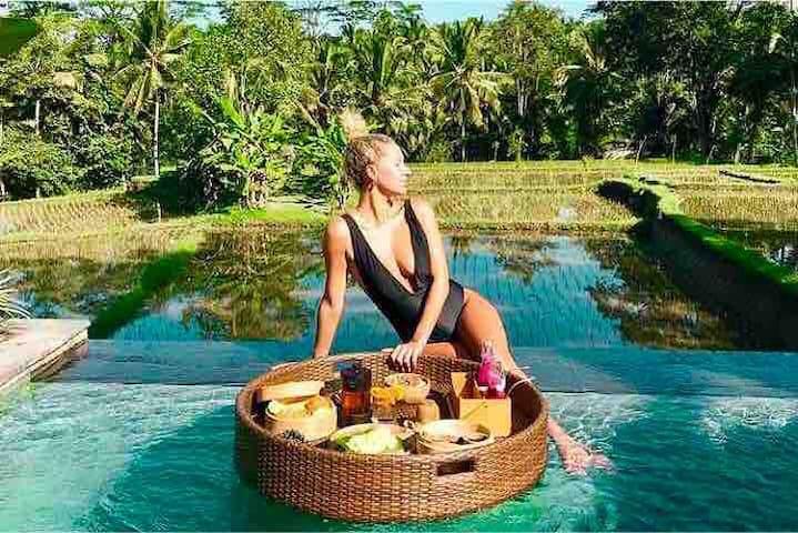 ♥️Sunset Side Infinity Pool PrivateVilla @Megananda