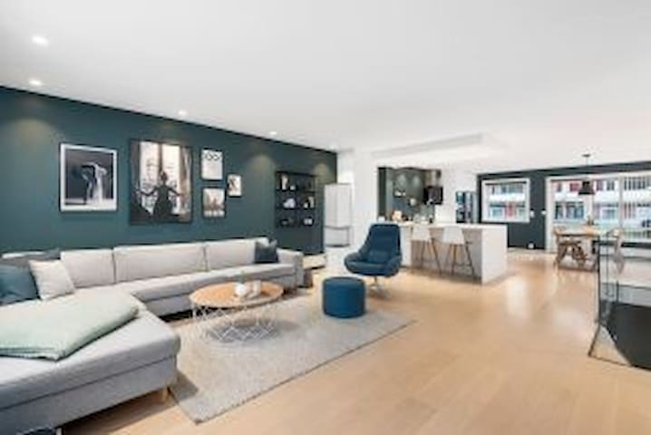 Luxury flat close to downtown of Trondheim