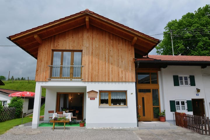 Attractive Holiday Home in Lechbruck am see with Garden