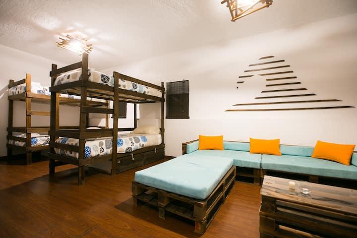 DOURO SURF HOSTEL - Wave Dorm (4bed)