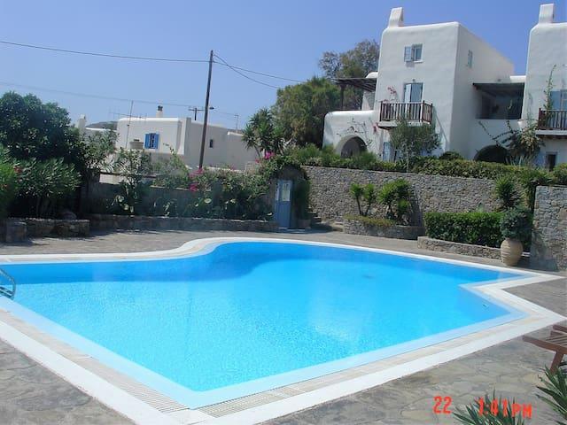 HOUSE IN PLEIADES COMPLEX (ORNOS, MYKONOS) - Ornos - Condominium