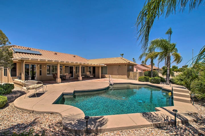 NEW! Sun City West Oasis: Golf, Hike & Dine Nearby