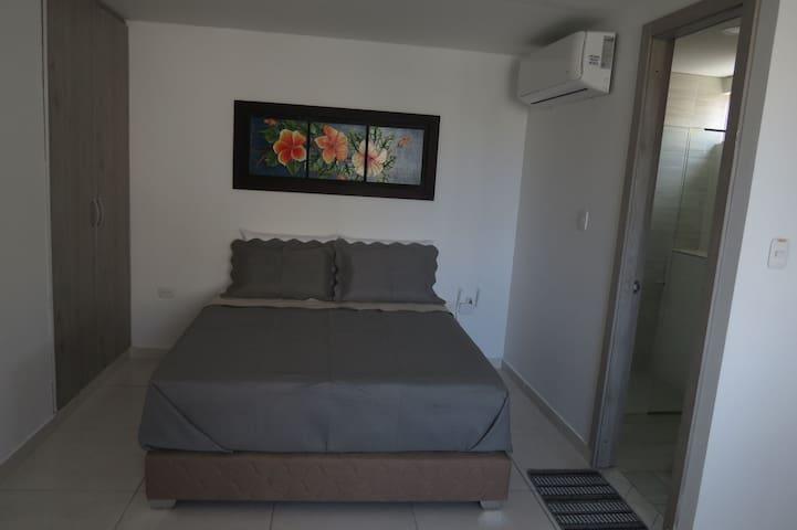 Apartaestudio tipo loft Barranquilla amoblado